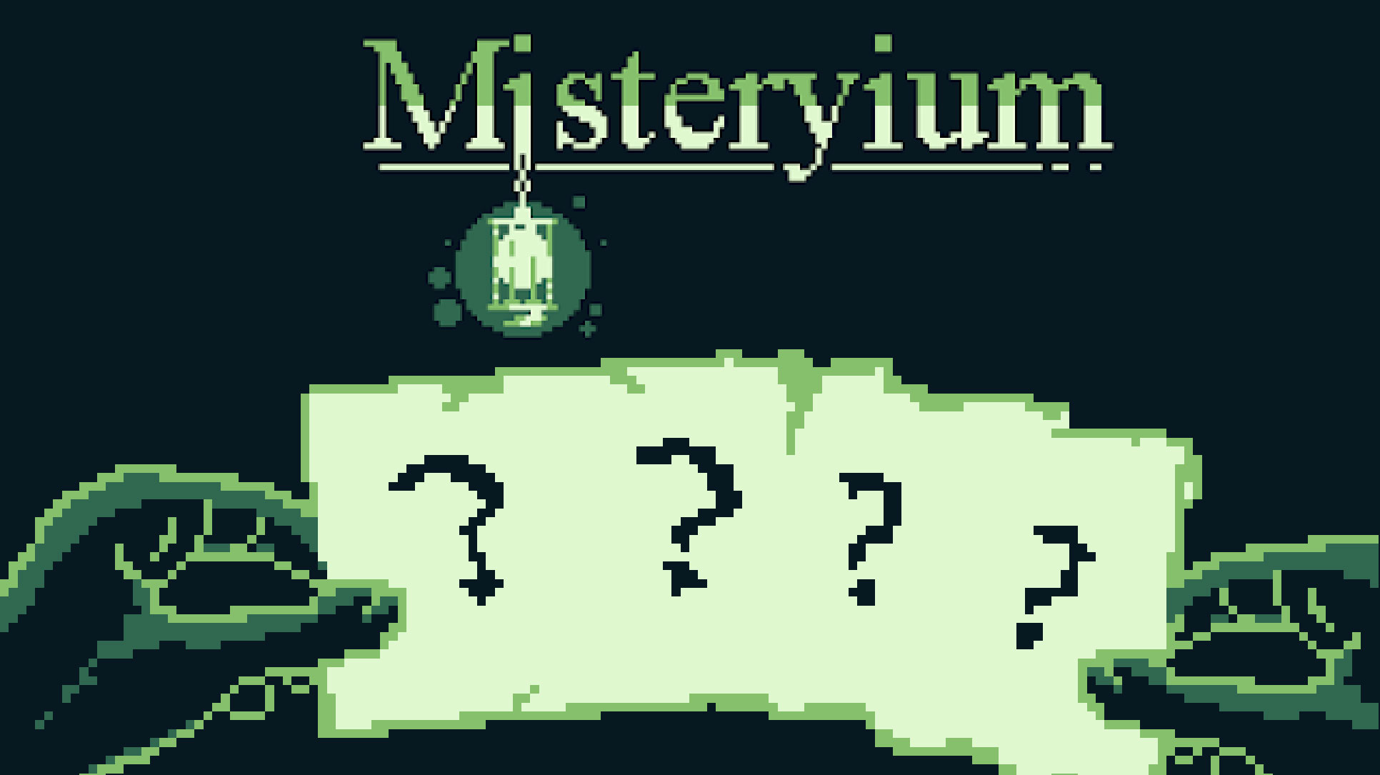 Misteryium(R) – a game made for Game Boy