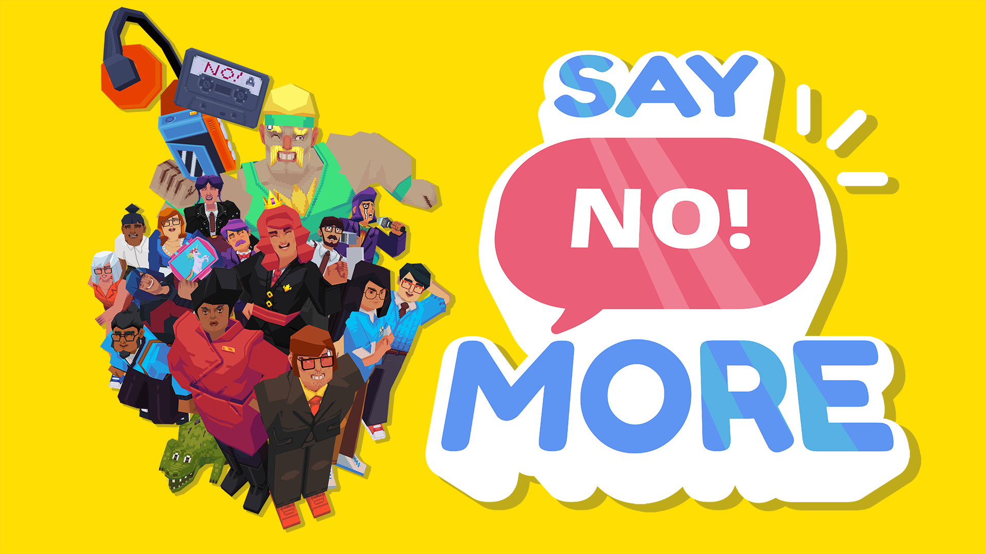 Say NO! More review